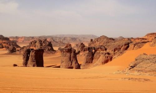 Zdjecie ALGIERIA / Sahara / Gdzieś po drodze... / Formy skalne