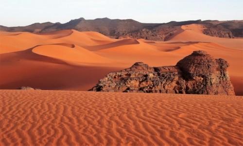 ALGIERIA / Sahara / Tadrart / Wszędzie pięknie, ale... tęsknię za pustynią