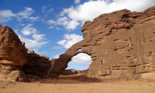 ALGIERIA / Sahara / Tikoubene / 9 dni w siódmym niebie - Miejsce Miecza