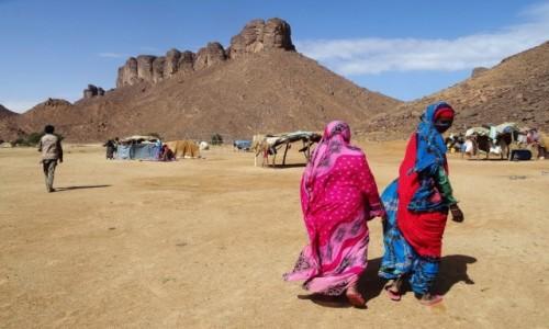 Zdjecie ALGIERIA / Sahara / Tadrart / 9  dni w  siódmym niebie - w obozie nomadów