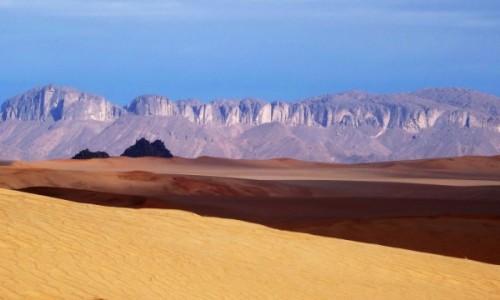 ALGIERIA / Sahara / Tadrart / 9  dni w  siódmym niebie: poranek