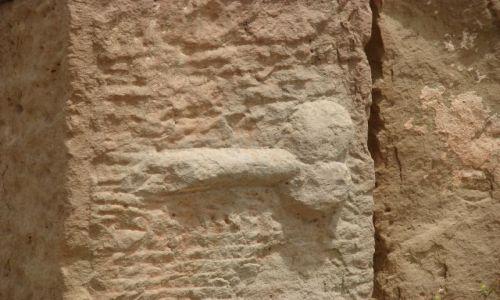 Zdjecie ALGIERIA / Timgad / Timgad / ruiny - kierunkowskaz?