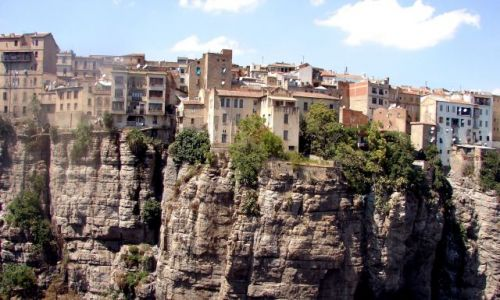 Zdjecie ALGIERIA / brak / Algieria / Domki na skale;)