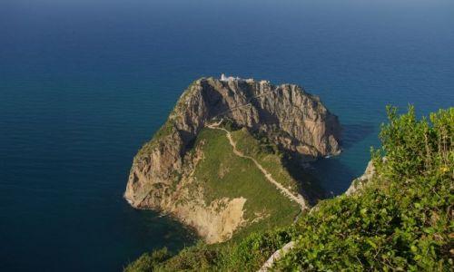 Zdjecie ALGIERIA / - / park narpdowy Gouraya / nad morzem Śródziemnym