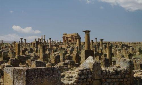 ALGIERIA / - / Timgad / Rzymskie ruiny