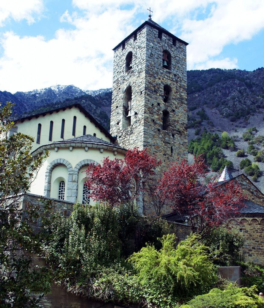 Zdjęcia: Andora, Pireneje, Kościół pw. św. Stefana, ANDORA