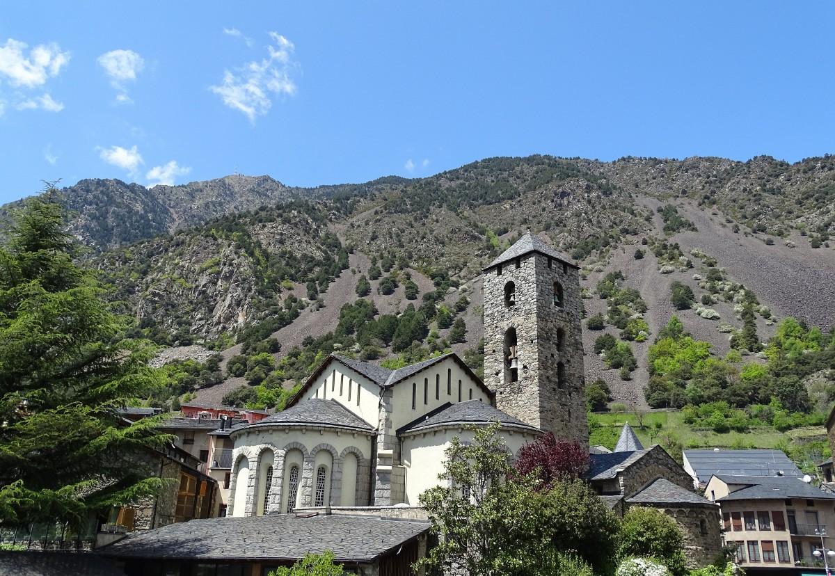 Zdjęcia: kościół św. Stefana, Andorra la Vella, Sant Esteve, ANDORA