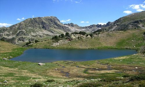 ANDORA / Soldeu / stawy Siscaro / Pireneje