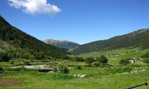 Zdjecie ANDORA / Pireneje / dolina d\\\'Incles / w drodze na przełęcz Collada de Juclar