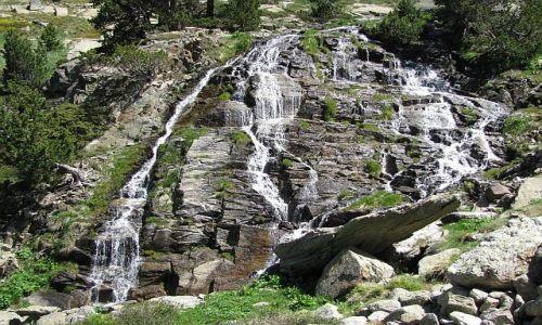 Zdjęcie ANDORA / Pireneje / dolina de Juclar / w drodze na przełęcz Collada de Juclar