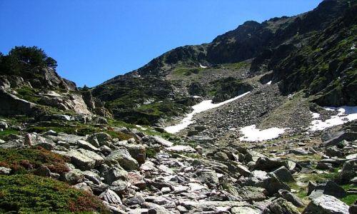 Zdjęcie ANDORA / Pireneje / dolina Juclar / w drodze na przełęcz Collada de Juclar