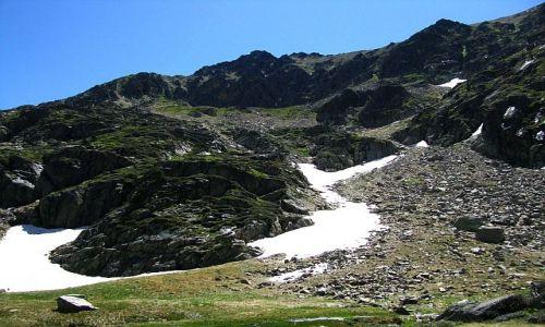 ANDORA / Pireneje / dolina Juclar / w drodze na przełęcz Collada de Juclar