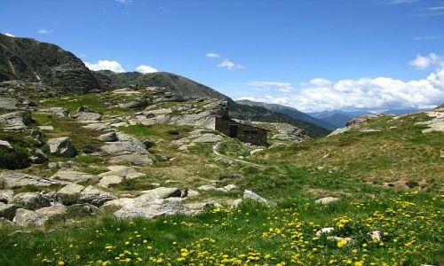 Zdjecie ANDORA / Pireneje / przełęcz de Juclar / schronisko de Juclar