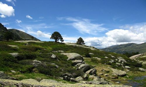 ANDORA / Pireneje / przełęcz de Juclar / przełęcz de Juclar