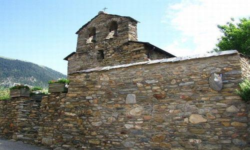 Zdjęcie ANDORA / Parafia Canillo / Prats / wiejski kościółek