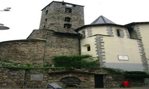 Zdjecie ANDORA / Andorra la Vell / Andorra la Vell / kościół Św. Esteve
