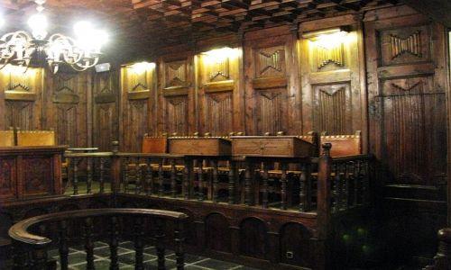 Zdjęcie ANDORA / Andorra la Vella / Andorra la Vella / sala parlamentu