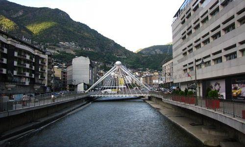 Zdjęcie ANDORA / Andorra la Vella / Andorra la Vella / most