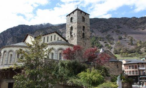 Zdjęcie ANDORA / Andora / centrum miasta / Kościół pw. św. Stefana