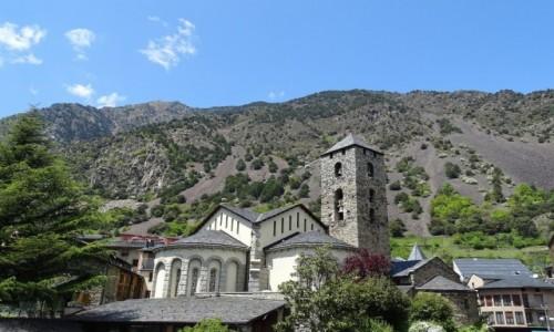 Zdjecie ANDORA / Andorra la Vella / kościół św. Stefana / Sant Esteve