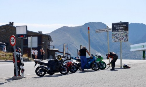 Zdjecie ANDORA / Pireneje / Port d'Envalira / Na przełęczy Port d'Envalira w Pirenejach