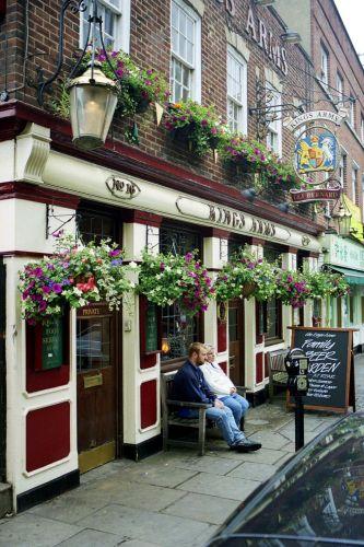 Zdjęcia: Greenwich, Essex, Pub w Greenwich, ANGLIA