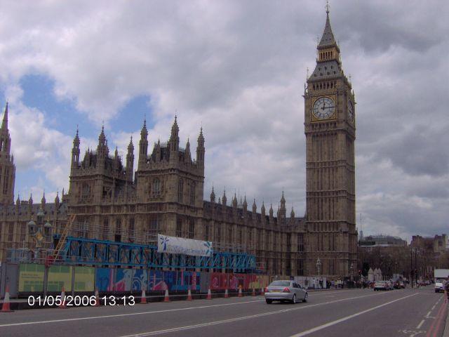Zdj�cia: LONDYN, Londyn, PARLAMENT I BIG BEN, ANGLIA