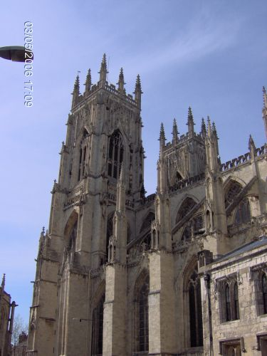 Zdjęcia: YORK, Yorkshire, KATEDRA W YORKU -The Minster, ANGLIA