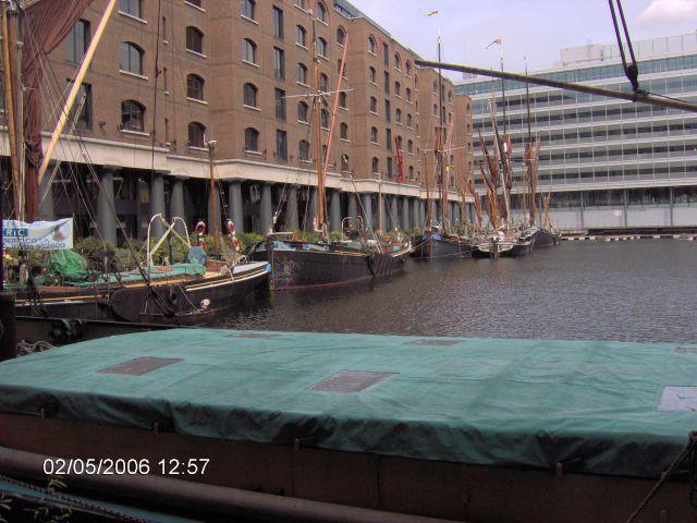 Zdjęcia: LONDYN, Londyn, Stare doki na Tamizie, ANGLIA