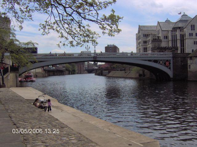 Zdj�cia: YORK, Yorkshire, York - Most na Olzie, ANGLIA