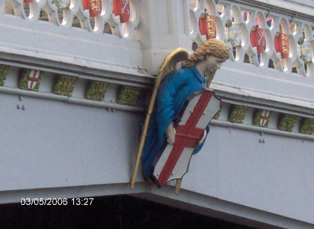 Zdjęcia: YORK, Yorkshire, York - Most na Olzie : Herb, ANGLIA