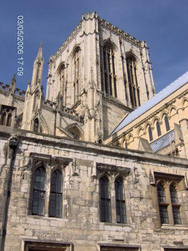 Zdjęcia: YORK, Yorkshire, KATEDRA W YORKU -The Minster, ANGLIA