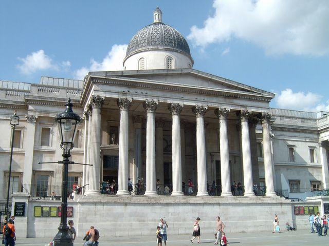 Zdjęcia: Londyn, Trafalgar Square, Londyn - National Gallery, ANGLIA