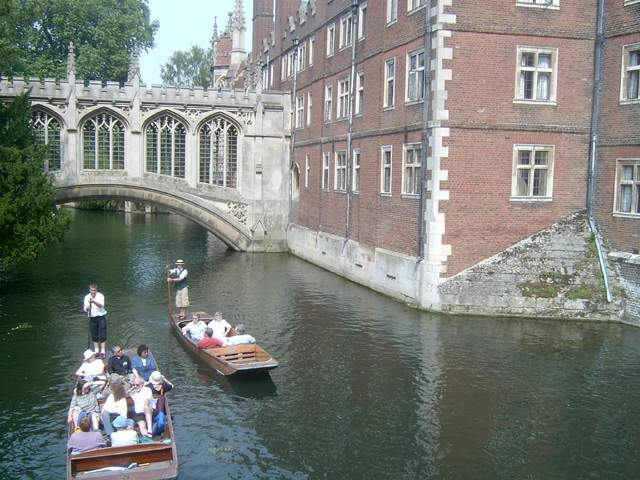 Zdjęcia: Cambridge, Bridge of Sighs, Cambridge - Most Westchnień, ANGLIA