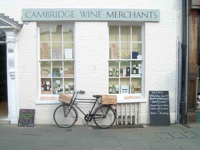 Zdjęcia: Cambridge, Cambridge - Wine Merchants, ANGLIA