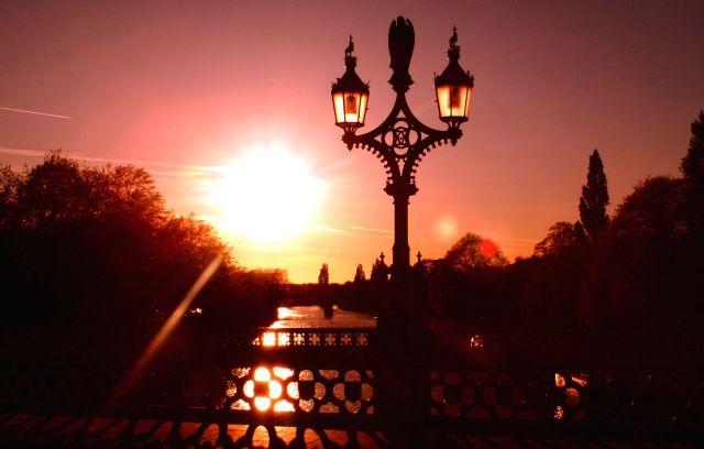 Zdjęcia: YORK, Yorkshire, Zachód Słońca na Moście , ANGLIA