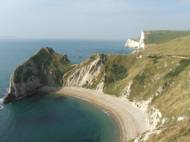 Zdj�cia: Durdle Door, Dorset, I te bia�e klify. Mrrr..., ANGLIA