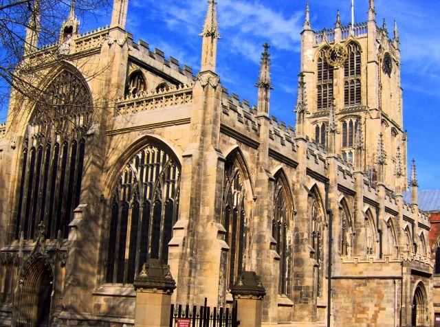 Zdj�cia: Hull, East Yorkshire, Katedra w Hull, ANGLIA