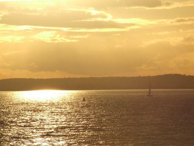 Zdjęcia: poludniowa anglia, Isle Of White, zachod2, ANGLIA