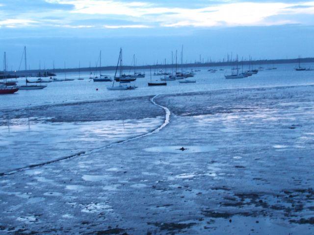 Zdjęcia: poludniowa anglia, Isle Of White, odpływ, ANGLIA