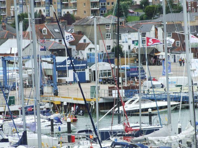 Zdjęcia: poludniowa anglia, Isle Of White, przystań, ANGLIA