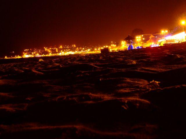 Zdjęcia: poludniowa anglia, plaża noca, ANGLIA