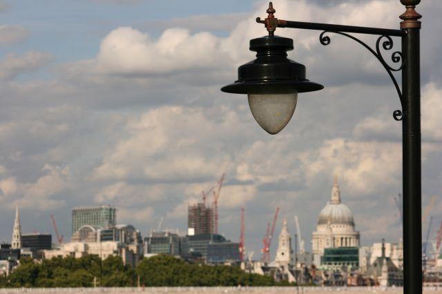 Zdjęcia: Londyn - The Horniman Museum, Widok na centrum z Horniman Gardens , ANGLIA