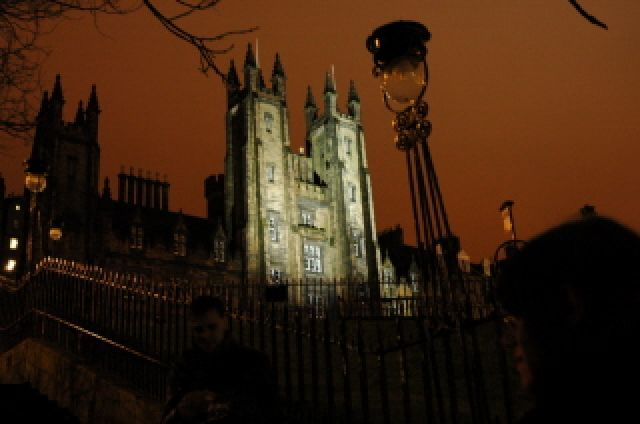 Zdjęcia: Edynburg, Szkocja, Edynburg nocą 3, ANGLIA