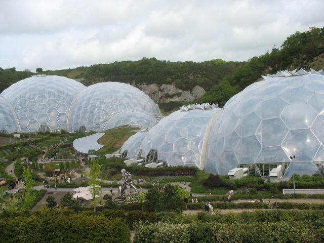 Zdjęcia: Eden Project, Cornwall, Nawet na jałowej ziemi może powstać życie, ANGLIA