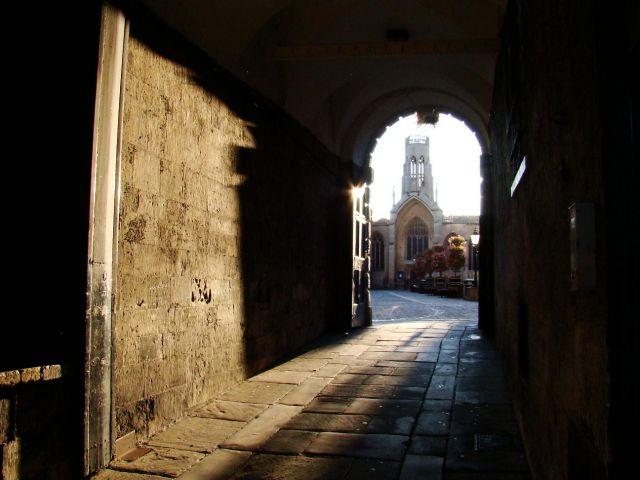 Zdjęcia: York, Yorkshire, w zaciszu bramy, ANGLIA
