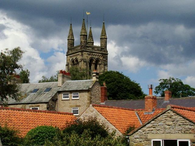 Zdj�cia: Helmsley, North Yorkshire, miasteczko Helmsley, ANGLIA