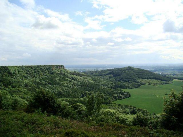 Zdjęcia: Sutton Bank, North Yorkshire, panorama Yorkshire, ANGLIA