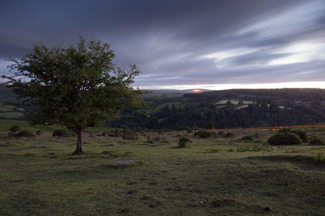 Zdjęcia: Dartmeet / Dartmoor, Devon, Widok na Dartmeet, ANGLIA