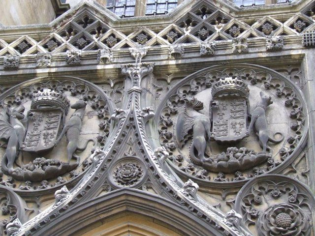 Zdj�cia: Cambridge, Anglia, Angielskie zdobiennictwo, ANGLIA